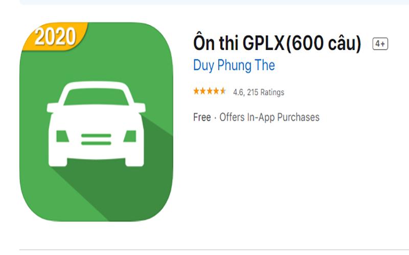 App ôn thi giấy phép lái xe B2