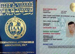 Tìm hiểu bằng lái xe quốc tế IAA là gì?