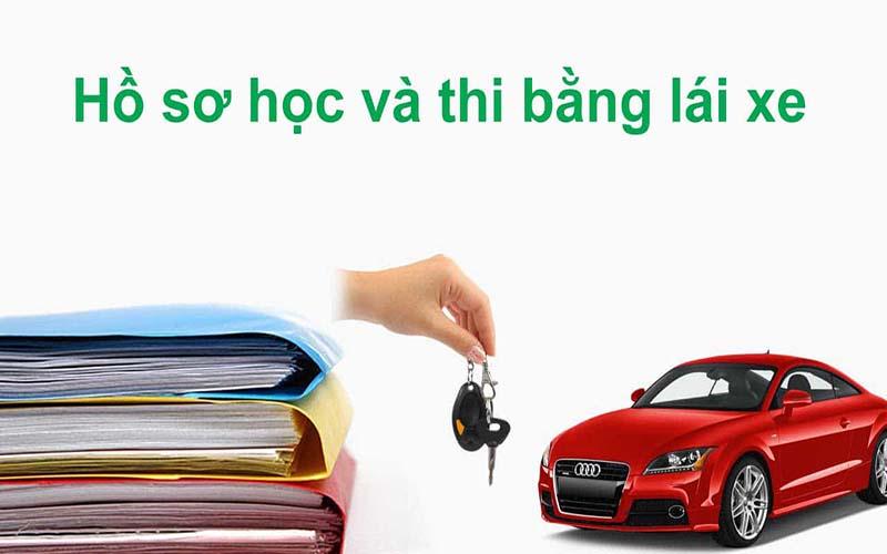 Hồ sơ học bằng lái xe ô tô số tự động