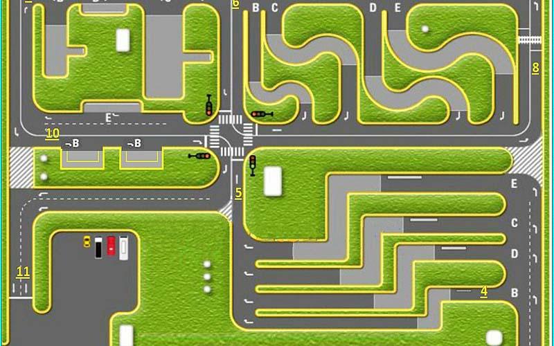 Quy trình thi bằng lái xe B1