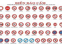Đặc điểm và ý nghĩa biển báo cấm trong giao thông đường bộ