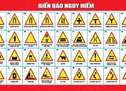 Ý nghĩa biển báo nguy hiểm giao thông đường bộ
