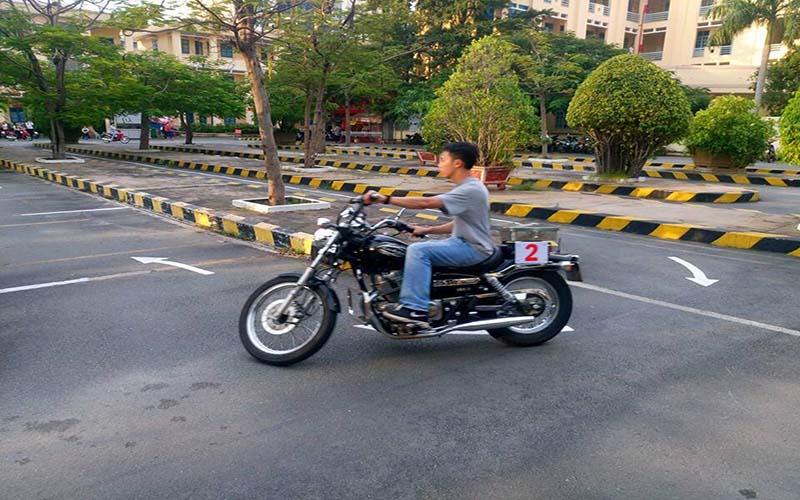 Chương trình thi bằng lái xe mô tô A2