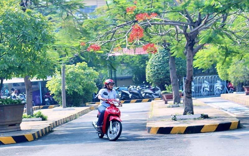 Đối tượng học bằng lái xe máy