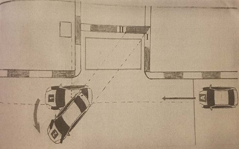 Hướng dẫn ghép xe song song vào nơi đỗ