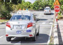 Hướng dẫn thi sát hạch sa hình bằng lái xe B2 đạt điểm cao