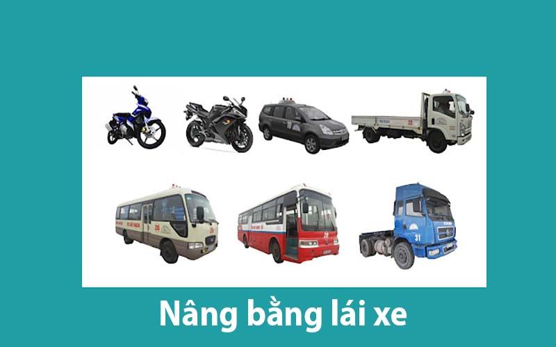 Nâng bằng lái xe cần những gì?