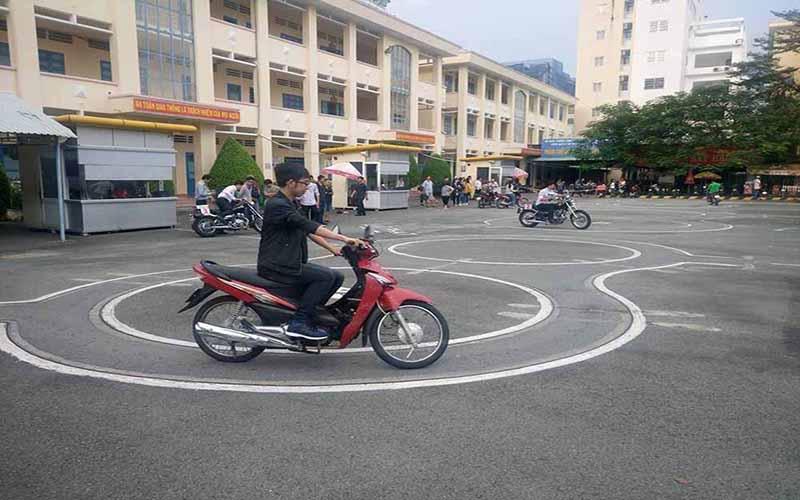 Trung tâm thi bằng lái xe máy A1