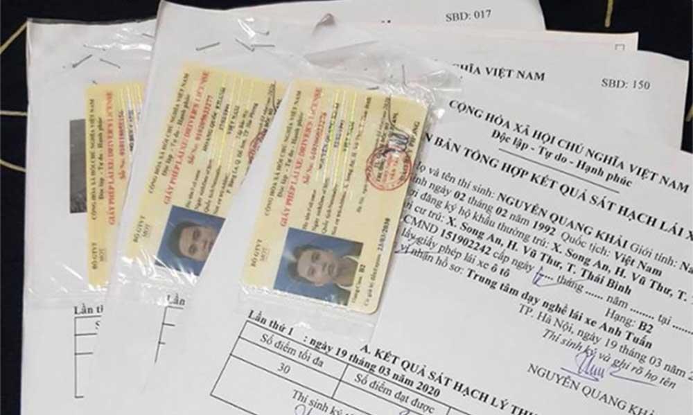 Bộ hồ sơ thi bằng lái xe hạng C