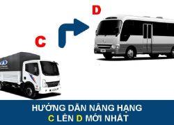 Điều kiện nâng bằng lái xe từ C lên D là gì? Chi phí bao nhiêu?