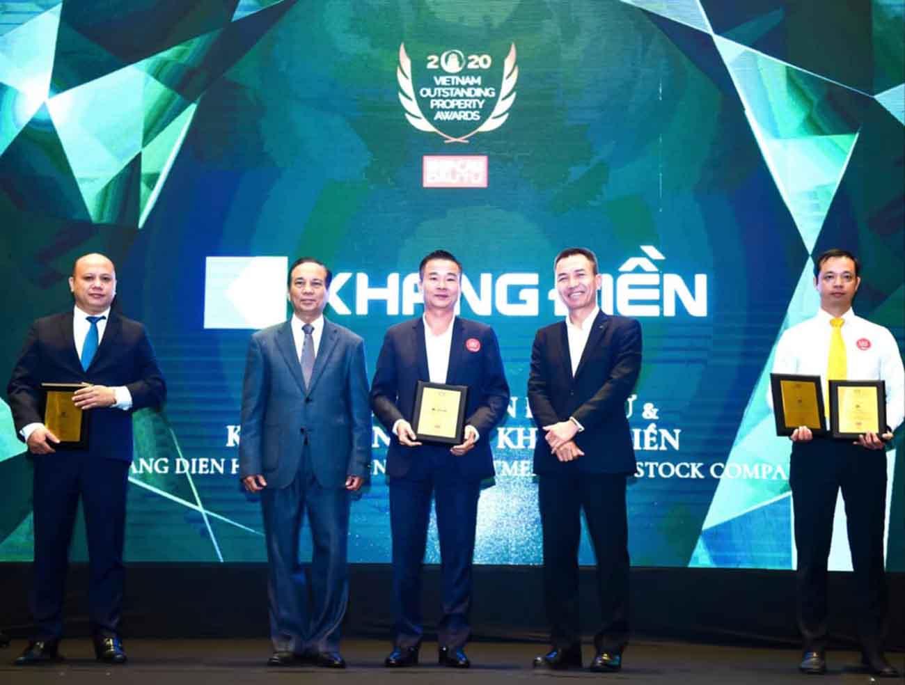 Khang Điền Group đạt nhiều giải thưởng